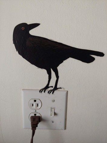 Wallpaper Crow kitchen
